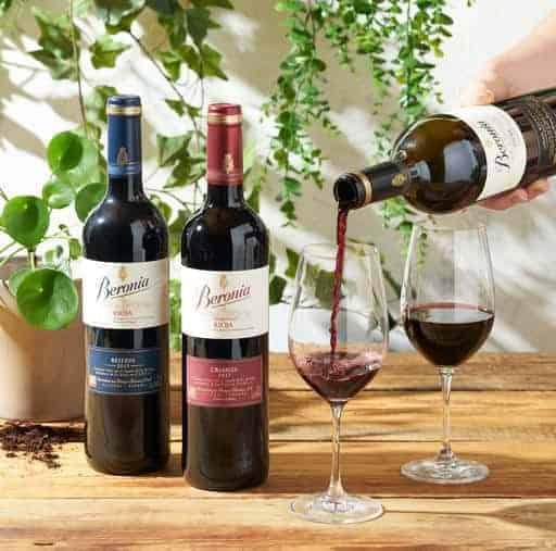 Beronia Rioja red wine tasting