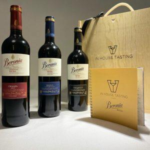 Beronia Rioja tasting trio