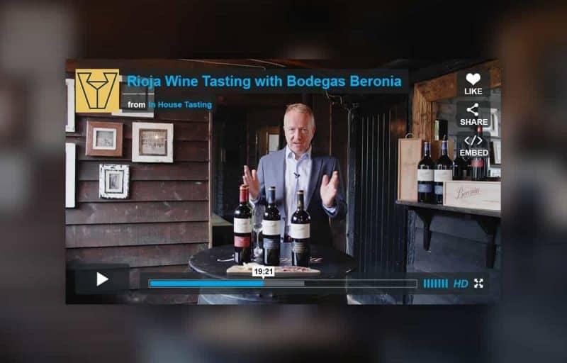 Rioja Wine Tasting with Bodegas Beronia