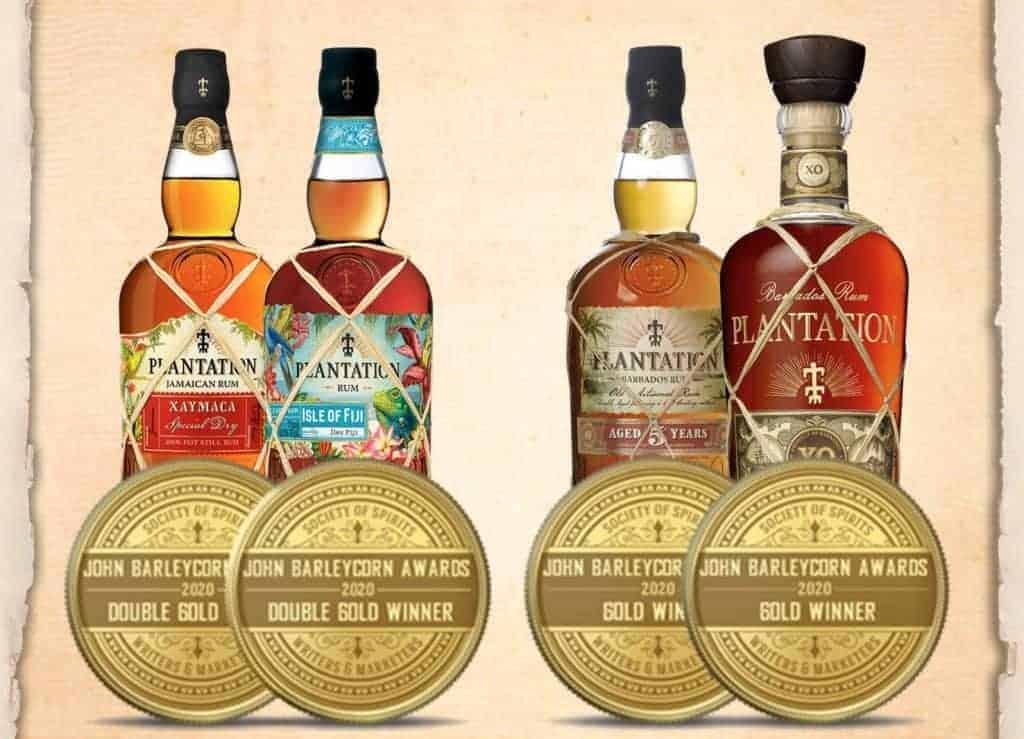 plantation rum tasting kit