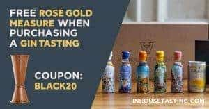 Black Friday offer and coupon for gin tasting