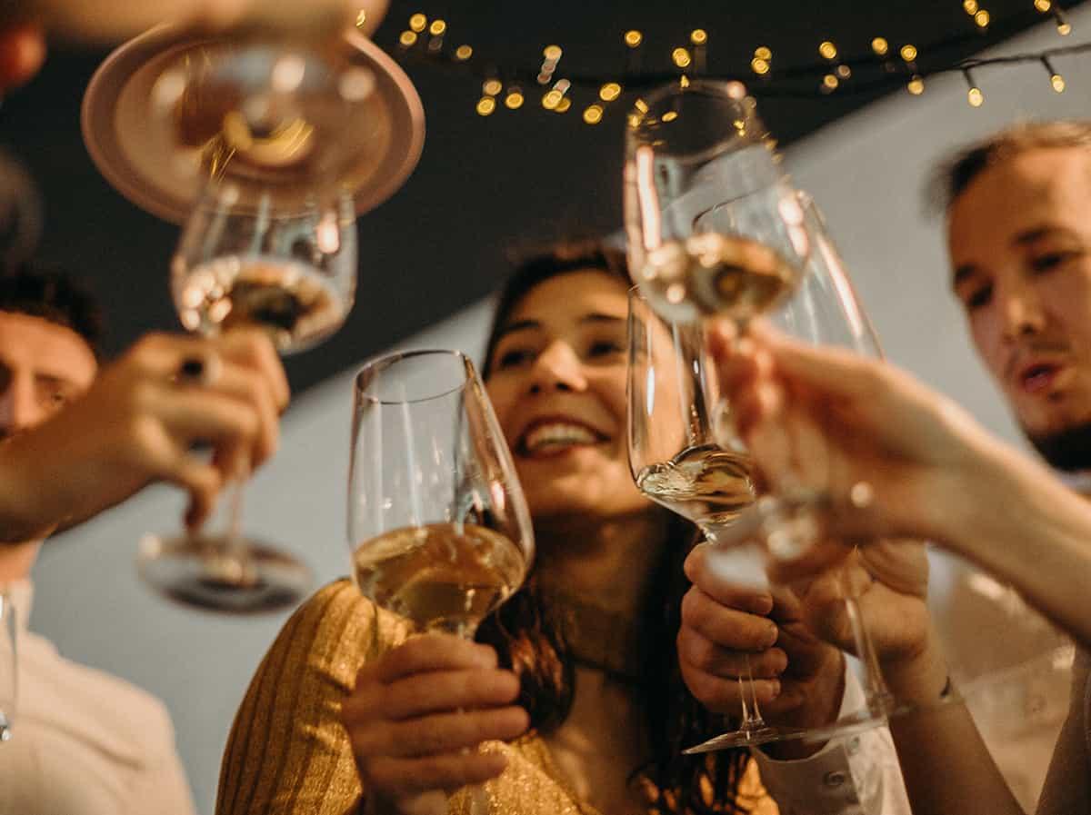 Virtual gin tasting at home