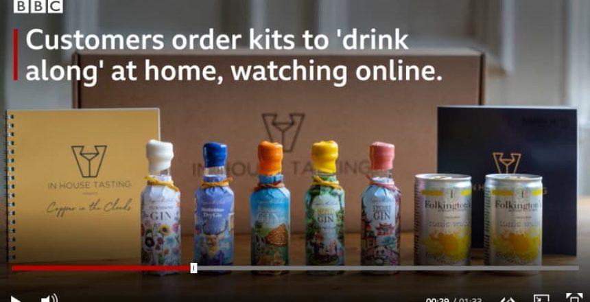 Virtual gin tasting BBC